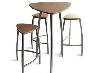 Ensemble table tabourets Delta:  de style  par Arielle D Collection Maison