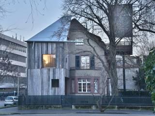 House with a Tree Rustikale Häuser von Sauter von Moos Rustikal
