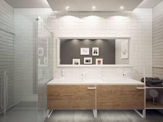 Minimalist bathroom Minimalist style bathroom by Luxum Minimalist