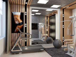 Samarina projects Salle de sport minimaliste