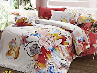 Cotton Sateen Print & 3D Bedding Sets de Roxyma Dream UK Moderno