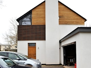 Llambetta House, Usk Hall + Bednarczyk Architects Modern Houses