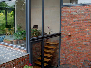 Orangery, Abergavenny Modern houses by Hall + Bednarczyk Architects Modern