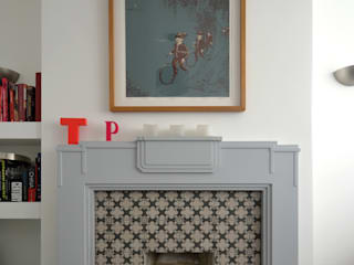 Broxholm Road - New fireplace interior photograph:   by Selencky///Parsons