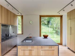 moderne Keuken door Hall + Bednarczyk Architects