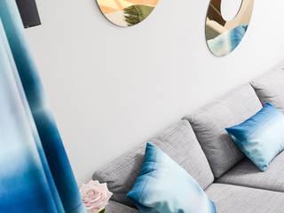 Salon Batignolles par STUDIO EMMA ROUX Moderne