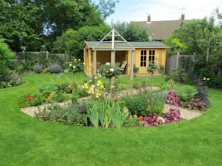 Mote Avenue, Maidstone Country style garden by Cowen Garden Design Country