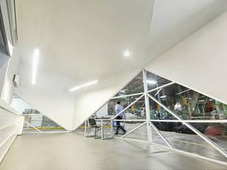 Dickies Showroom : Oficinas y tiendas de estilo  por TAAV Arquitectos