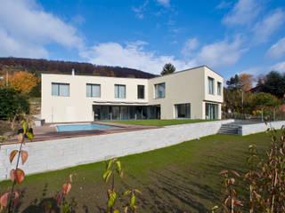 Einfamilienhaus Moderne Häuser von rgp architekten sia ag Modern