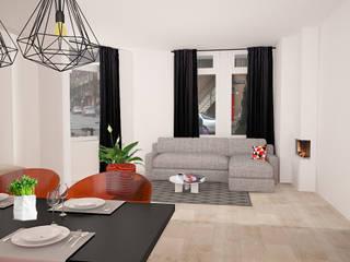 Salones de estilo minimalista de Levenssfeer Minimalista