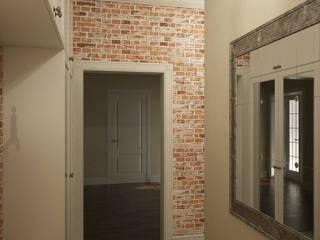 Pasillos, vestíbulos y escaleras de estilo clásico de Студия дизайна Марии Губиной Clásico