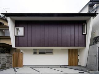 北側外観: 河合建築デザイン事務所が手掛けた家です。