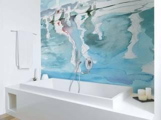Murales Divinos Salle de bain méditerranéenne