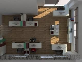 Proyectos de oficinas a medida Oficinas y tiendas de estilo moderno de Mobles la Gavarra Moderno