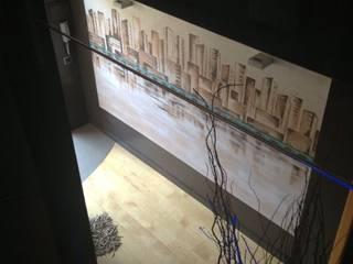 Murales Divinos Couloir, entrée, escaliers modernes