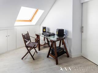 Bureau de style  par Arquitectos Madrid 2.0, Minimaliste