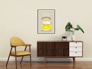 Affiche Combi A3:  de style  par Une Pointe d'épices