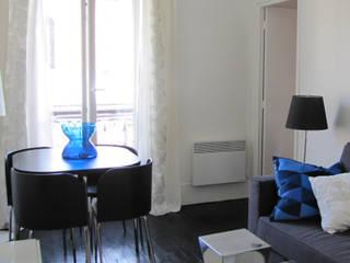 Salon Mont Cenis Salon moderne par STUDIO EMMA ROUX Moderne