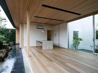 ISDアーキテクト一級建築士事務所 Living room Wood White