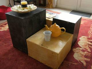 Table basse / Poufs:  de style  par L'OnduLéo