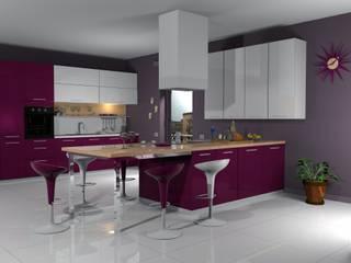 Render fotorealistici: Cucina in stile  di Studio Tecnico Savignano
