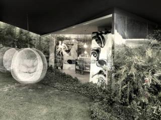 Atelier d'artista Case moderne di LDA.iMdA architetti associati Moderno