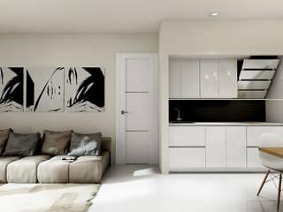living: Soggiorno in stile in stile Moderno di Nostran Servizi Immobiliari