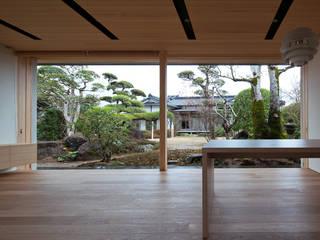 Modern Garden by ISDアーキテクト/一級建築士事務所 Modern Wood Wood effect