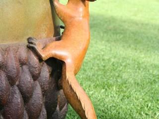 Bronze Acorn: country  by Adam Binder Sculptures, Country