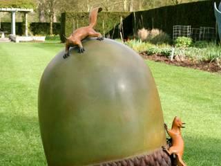 Bronze Acorn:   by Adam Binder Sculptures