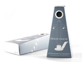 Holde Isolde | Kerzenhalter für Untertassen von dekoop GmbH Landhaus