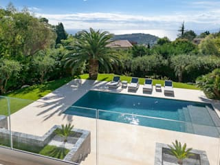 Villa South of France Exterior Urban Cape Interiors Modern pool