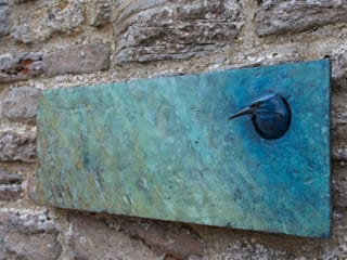 Bronze Wall Plaques: country  by Adam Binder Sculptures, Country