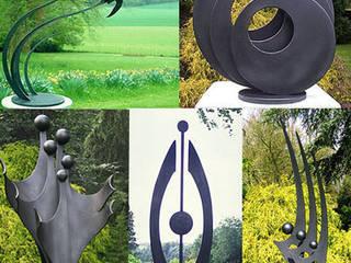 Garden Sculpture: modern Garden by Paul Margetts