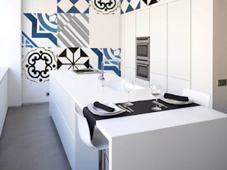 Kitchen by Murales Divinos, Minimalist