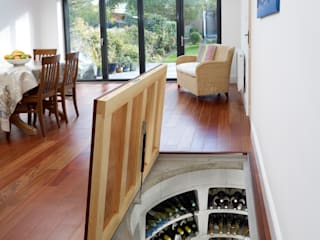 Top marks for this self-assembly wine cellar. : modern Wine cellar by Spiral Cellars