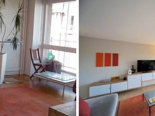 Appartement 4 pièces 95m2 par Createurs d'interieur Aix-en-Provence