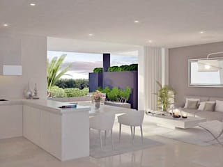 Livings de estilo moderno por care4home