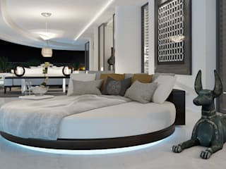 care4home Modern style bedroom