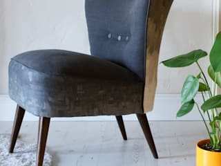 The Charcoal Cocktail Chair:   by DUNCOMBE OXLEYS
