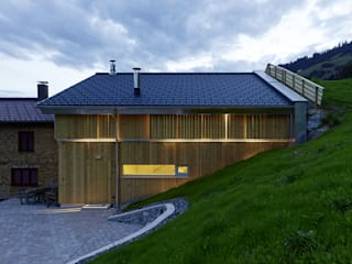 Country style house by HAMMERER ztgmbh . architekten Country