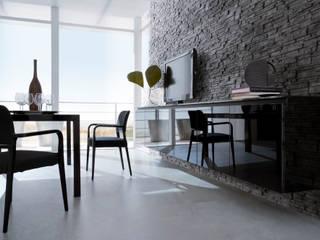 Collezione GINEVRA di VALPIETRA® per la zona living: Soggiorno in stile in stile Moderno di VALPIETRA®