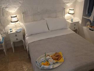 Śródziemnomorska sypialnia od INARCHlab Śródziemnomorski