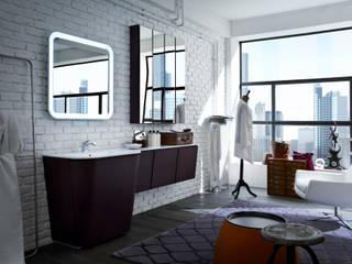 La collezione PANAMA di VALPIETRA® interpreta il bagno in chiave industrial: Bagno in stile in stile Industriale di VALPIETRA®