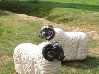 Sheep:  Garden by Lettering & Sculpture