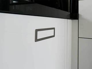 Zwart wit Keuken:   door DIEVORM B.V.