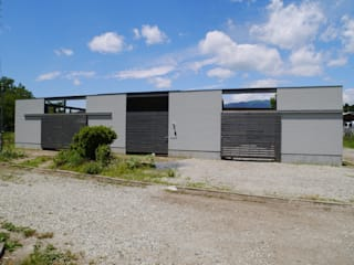 Casas de estilo  por 渡邉 清/スタイルウェッジ一級建築士事務所, Moderno