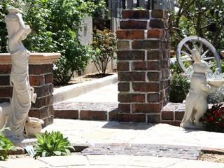 不思議の国のアリス: 風我里が手掛けた庭です。