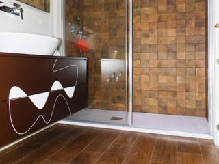 Reforma de baño rústico en Valencia:  de estilo  de scala-proyectos