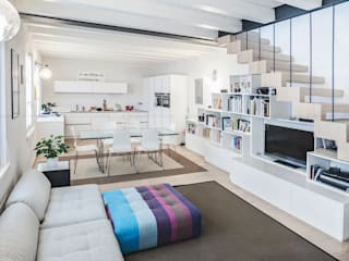 Appartamento a Verona Soggiorno minimalista di Pierangelo Laterza Minimalista